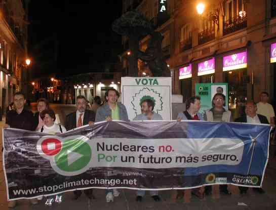 INICIO DE CAMPAÑA ELECTORAL - Puerta del Sol